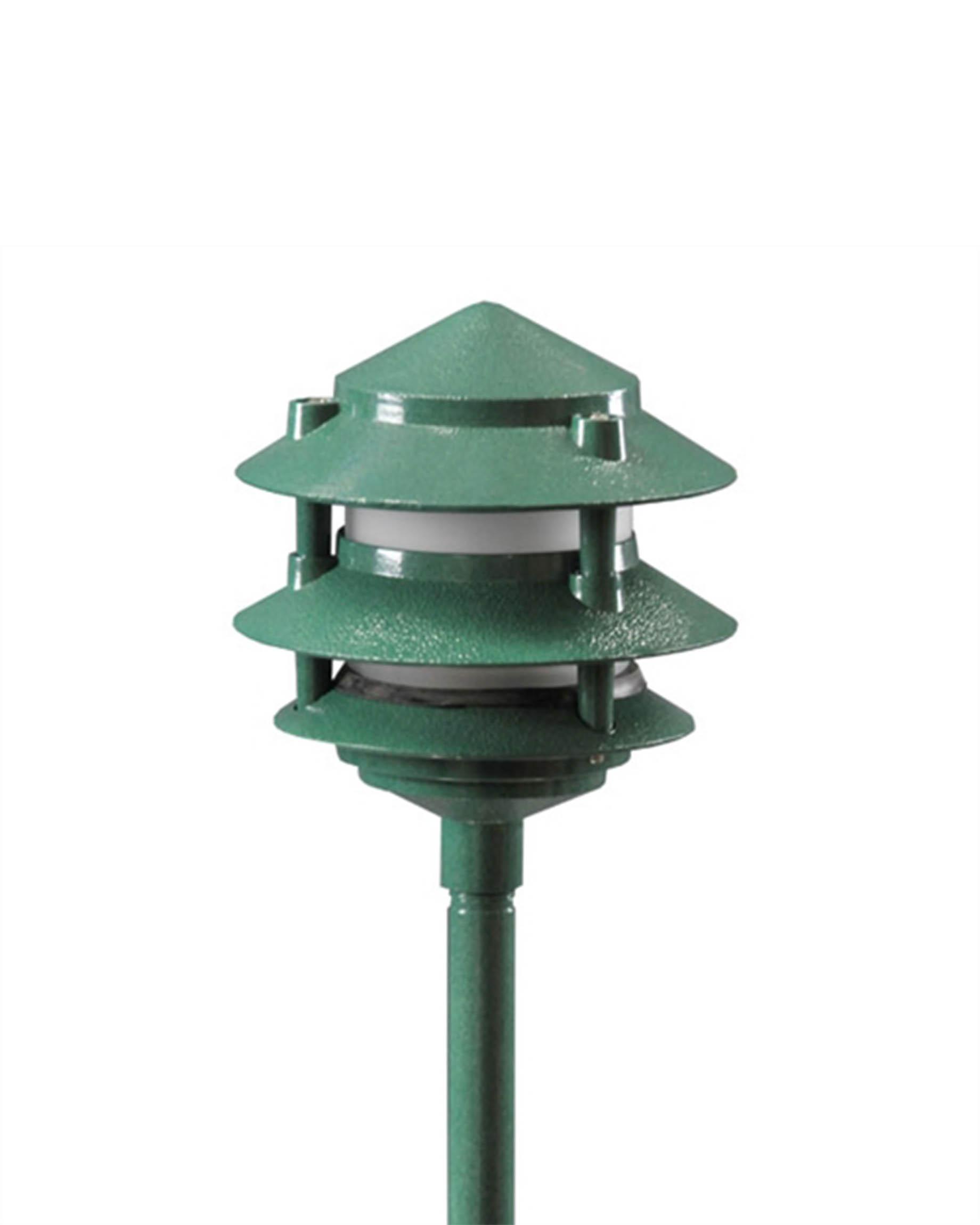 Orbit 12v green pagoda landscape light 50w max smart led aloadofball Image collections